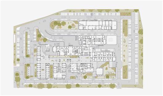 Plano del nuevo hospital reforma