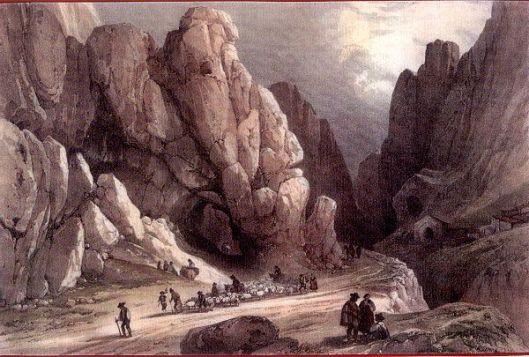 Desfiladero de Pancorbo 1836