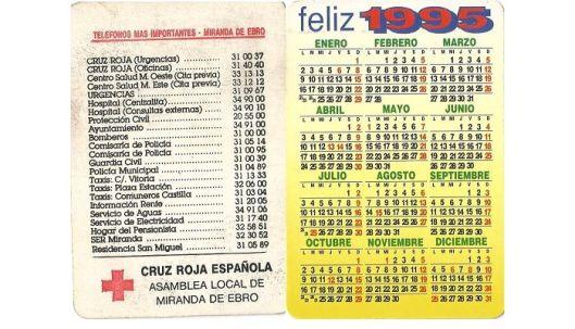 Cruz Roja 1995
